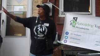 Kensington 2018 Block Build Saturday - Ms. Myra's Welcome Speech