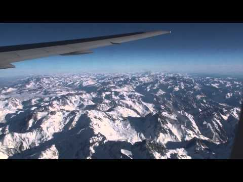 Andes Mountains, LAN Chile Santiago-Buenos Aires, South America