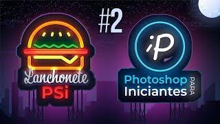 Como criar Logo no Photoshop com Efeito Neon | Tutorial #2