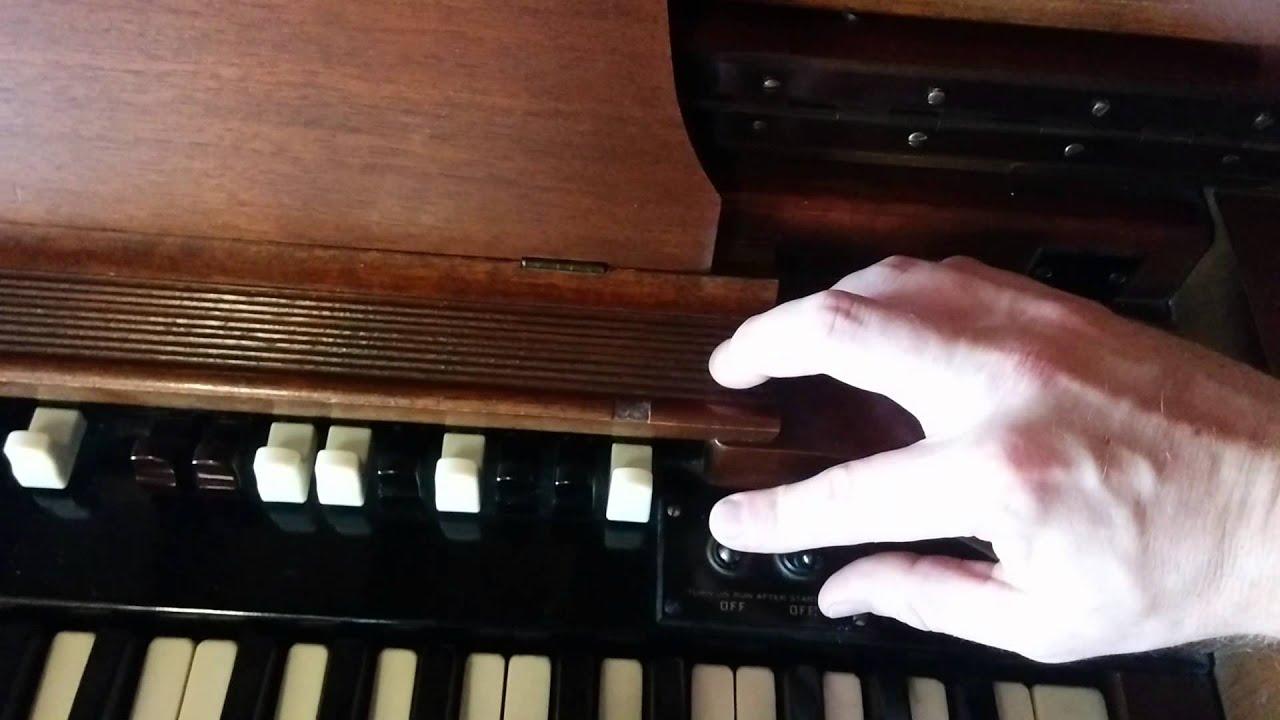 1947 hammond cv organ