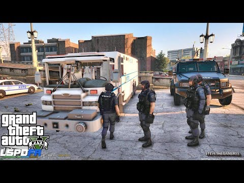 LSPDFR #548 NYPD ESU PATROL!! (GTA 5 REAL LIFE POLICE PC MOD) SINGLE PLAYER #600K