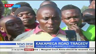 5 people have died in a road accident along Kakamega- Kisumu highway