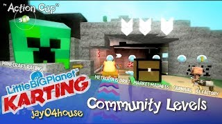 LittleBigPlanet Karting | jay04house's Levels (Community Level Archive)