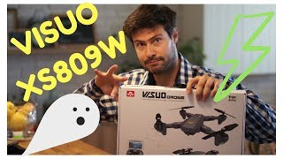 A good brushed FPV starter drone - Visuo XS809W unboxing and review