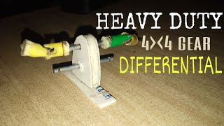 WOW!HEAVY DUTY TRUCK 4x4 Gear DIFFENTIAL,MADE FROM PVC!!!