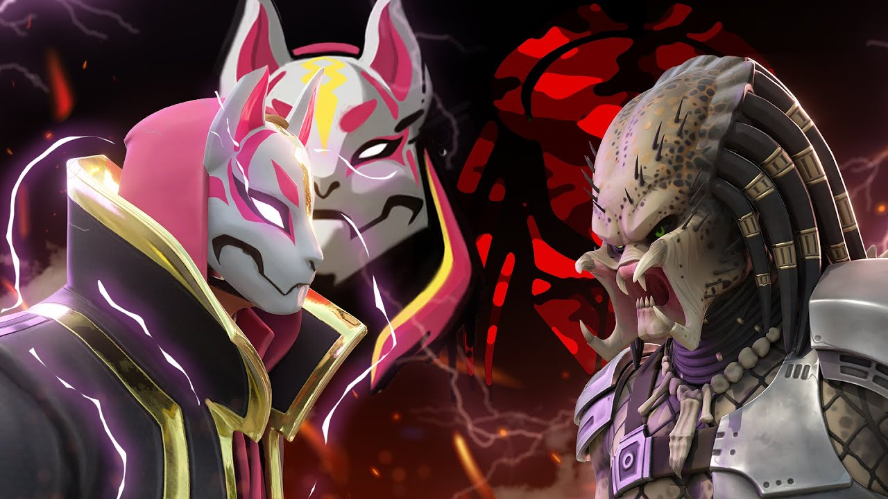 PREDATOR VS DRIFT.... ( Fortnite Roleplay )