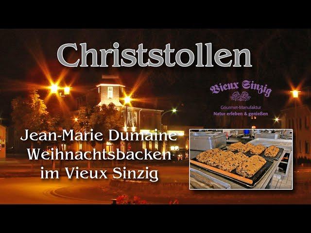 Christstollen mit schwarzen Nüssen in der Edition 2019