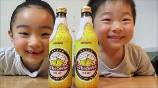 ビールみたい★こどもののみもの SANGARIA炭酸飲料/Like beer ★ Drink of children. SANGARIA carbonated beverages thumbnail