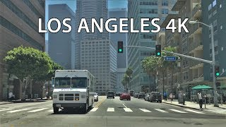 Los Angeles Drive 4K - Wilshire Boulevard - USA