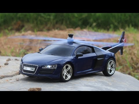 How To Make A Helicopter Car - Audi R8 - Make Your Own Creation
