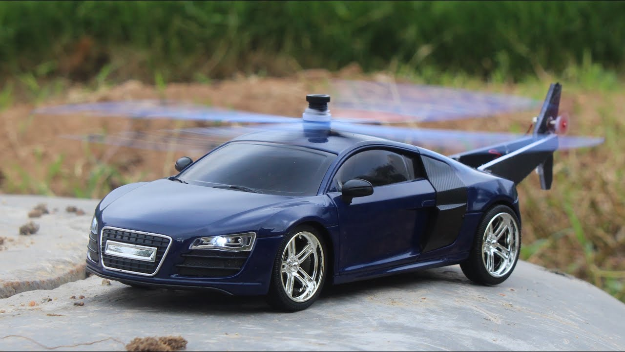 how to make a helicopter car audi r8 make your own creation youtube. Black Bedroom Furniture Sets. Home Design Ideas