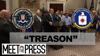 'Treason' And 'The Big I-Word' Sidelines And Divides Washington | Meet The Press | NBC News