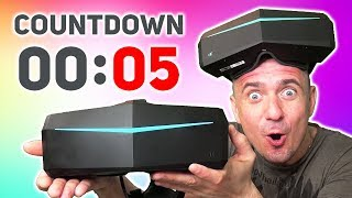 Live Countdown: Pimax launches on Amazon US today with Discounts & Gifts