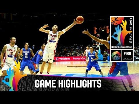 Croatia v Philippines - Game Highlights - Group B - 2014 FIBA Basketball World Cup