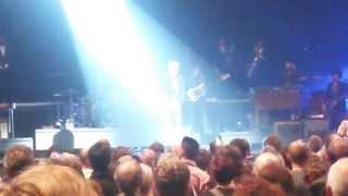 Strasbourg Zenith 14/11/2015, concert Johnny Hallyday , minute de silence, lendemain attentat Paris