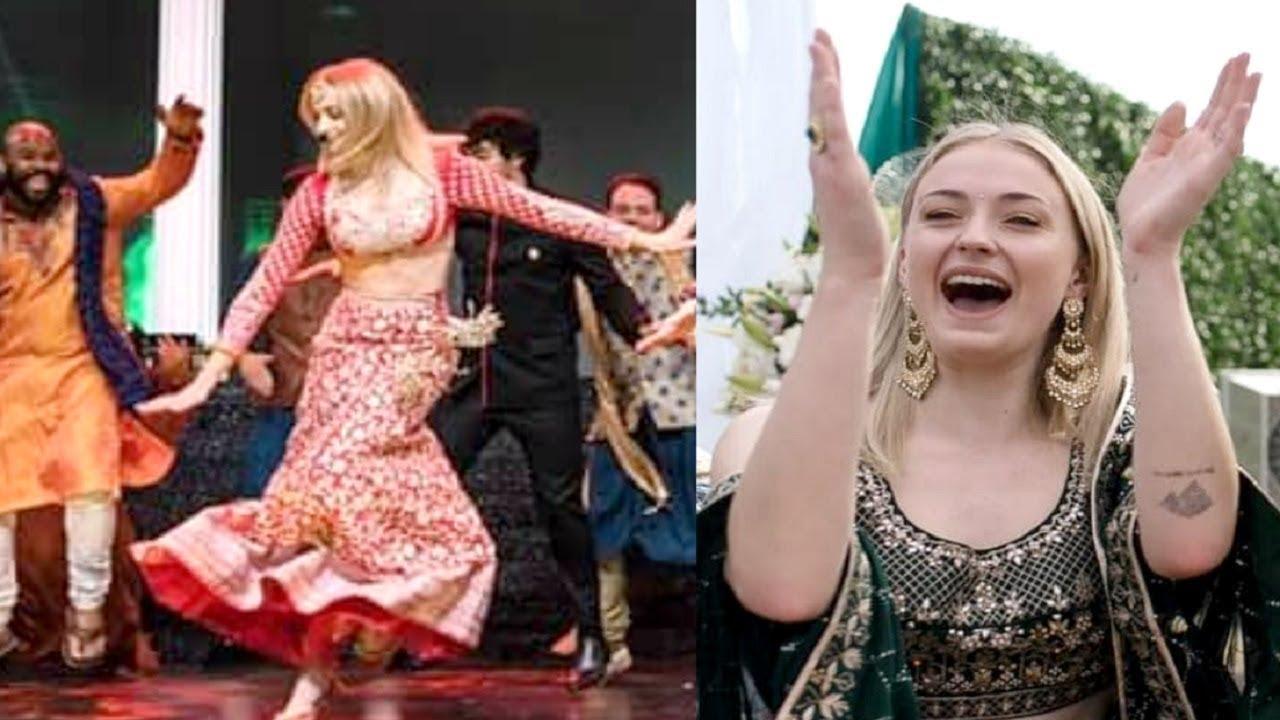 Game Of Thrones Actress Sophie Turner Dance Performance At Priyanka Chopra Wedding