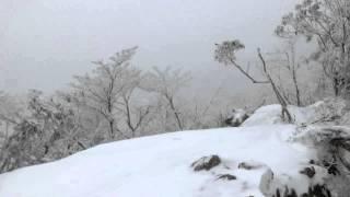 2015 03 12 寒波到来 薊岳から前山へ