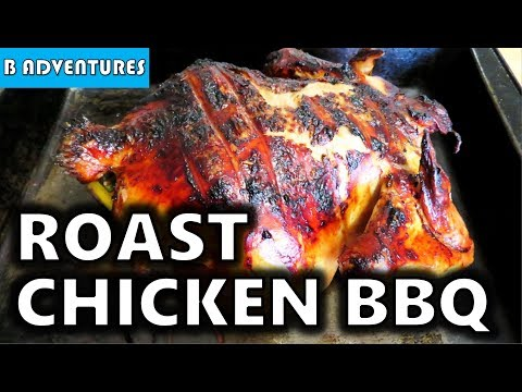 How To Roast Chicken On BBQ Grill, Australia