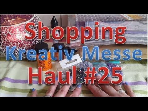 shopping haul 25 special kreativ hamburg messe 2017 youtube. Black Bedroom Furniture Sets. Home Design Ideas