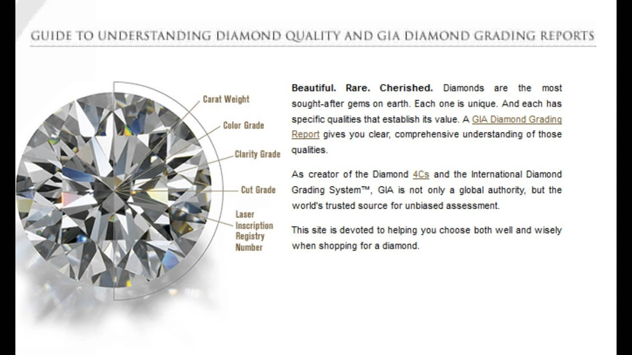 watch of quality by diamond carat grading gia weight youtube