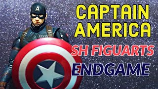 CAPTAIN AMERICA ACTION FIGURE REVIEW  | Avengers Endgame Sh Figuarts
