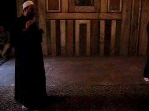 Singing in Mosque