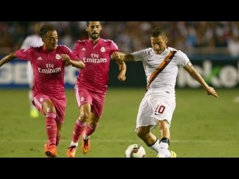 Real 0-1 Roma nternational Champions Cup 2014