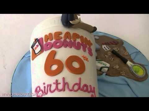 Coffee Lovers 60th Birthday Cake