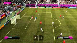 Fifa 12 Euro 2012 : Germany vs Portugal 1st Half [gameplay PC] HD1080p
