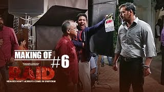 Making of Raid #6 On Location | Ajay Devgn | Ileana D