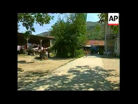 Village where Slavs and ethnic Albanians live in harmony