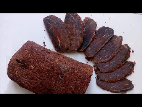 Бастурма армянская классическая из говядины (Հայկական բաստուրմա)