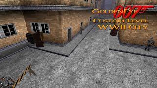 GoldenEye 007 N64 - WW2 City - 00 Agent (Custom level)