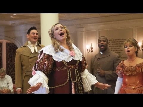"VOICES OF LIBERTY Stephen Foster ""Father Of American Music"" Medley Acapella Epcot Group"