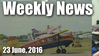 Weekly News (23 June, 2016)