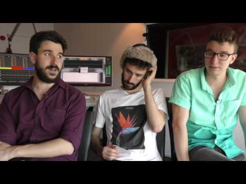 AJR Interview - Adam, Jack, And Ryan (part 2)