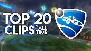 Top 20 Most Watched Rocket League Clips of All Time