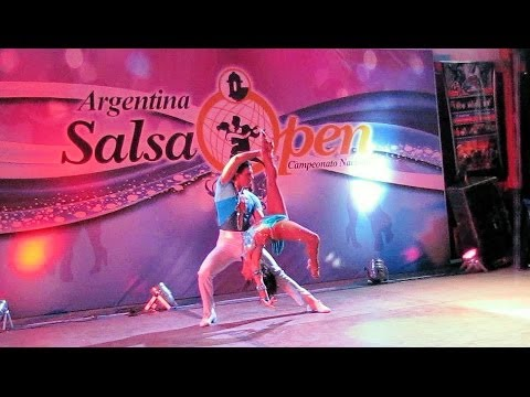 Argentina Salsa Open 2014 ~ Final Parejas ~ Leticia Beltrán & Gabriel Salgado - 1º