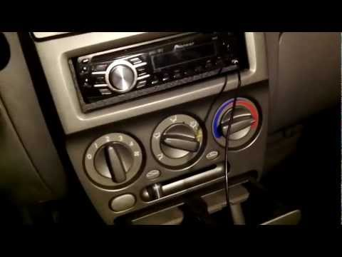 LED Lighting Heating A/c Panel 2000-2005 Hyundai Accent