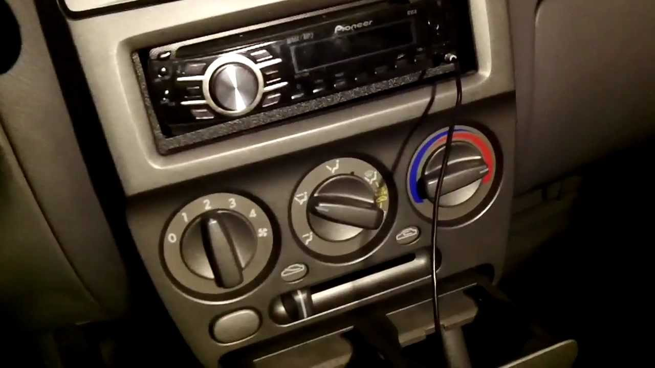 Led Lighting Heating A C Panel 2000 2005 Hyundai Accent