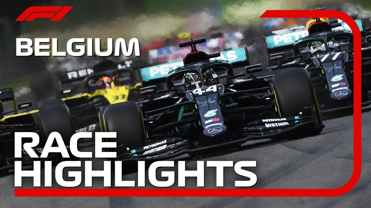 2020 Belgian Grand Prix: Race Highlights