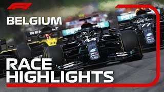 2020 Belgian Grand Prix: Race Highlights