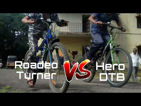 Roadeo Turner Race Extreme Race Rodeo Turner VS Hero DTB (Dirt Terrain Bike) Best Race Incredible 