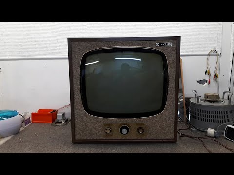 Lotus 19 Inch 1960's Valve TV Model 6513 Part 1