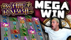 MEGA WIN on White Rabbit