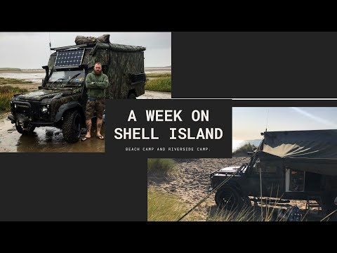 A Week On Shell Island And West Coast Of Wales.