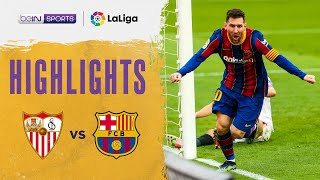Sevilla 0-2 Barcelona | LaLiga 20/21 Match Highlights