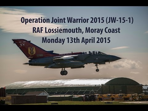 Joint Warrior 15-1 - RAF Lossiemouth