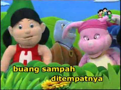 Lagu anak Indonesia: buang sampah pada tempatnya