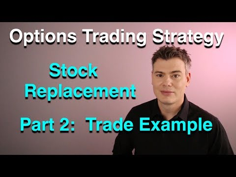 Stock Replacement Strategy Part 2  -  Options Trading  -  VXX, SVXY, VIX, Volatility, Investing